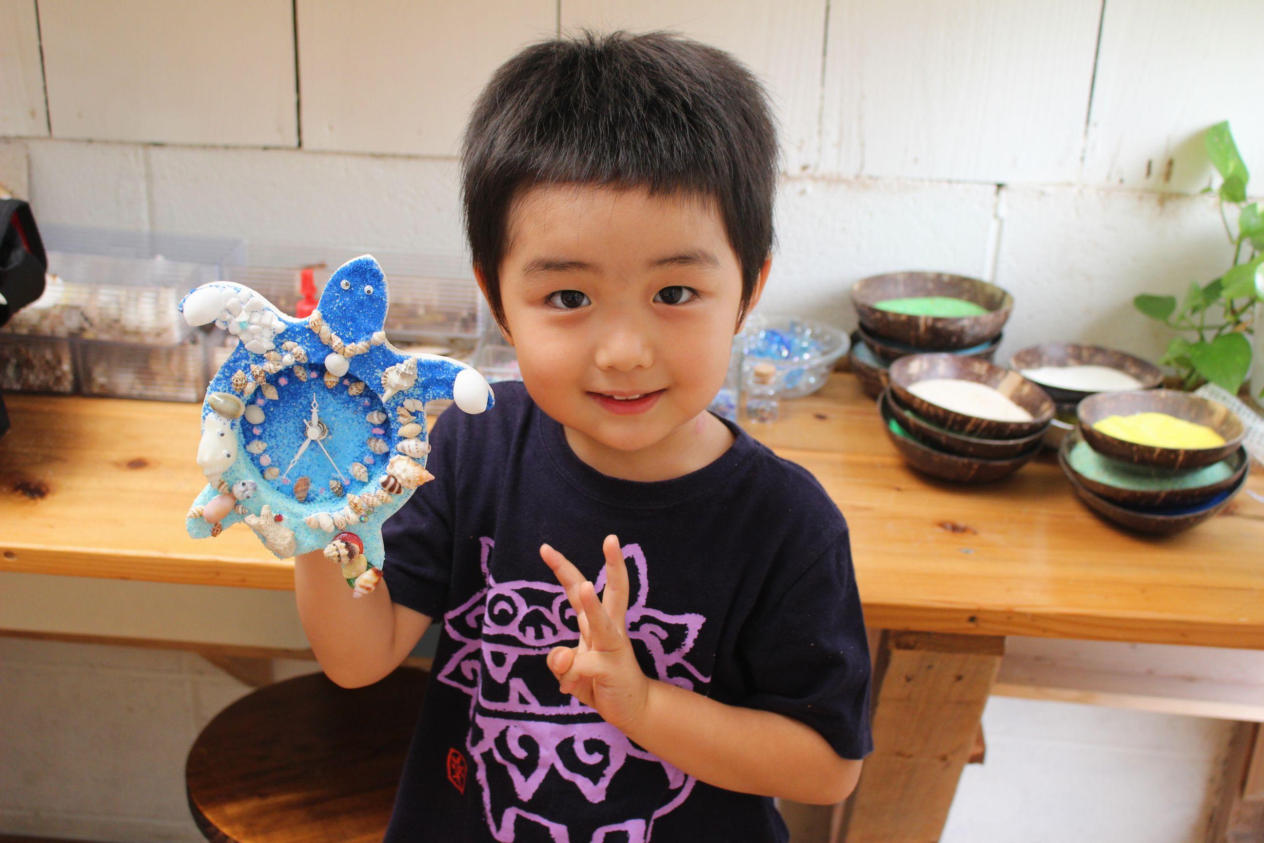 沖縄 子供 手作り体験 AKI工房